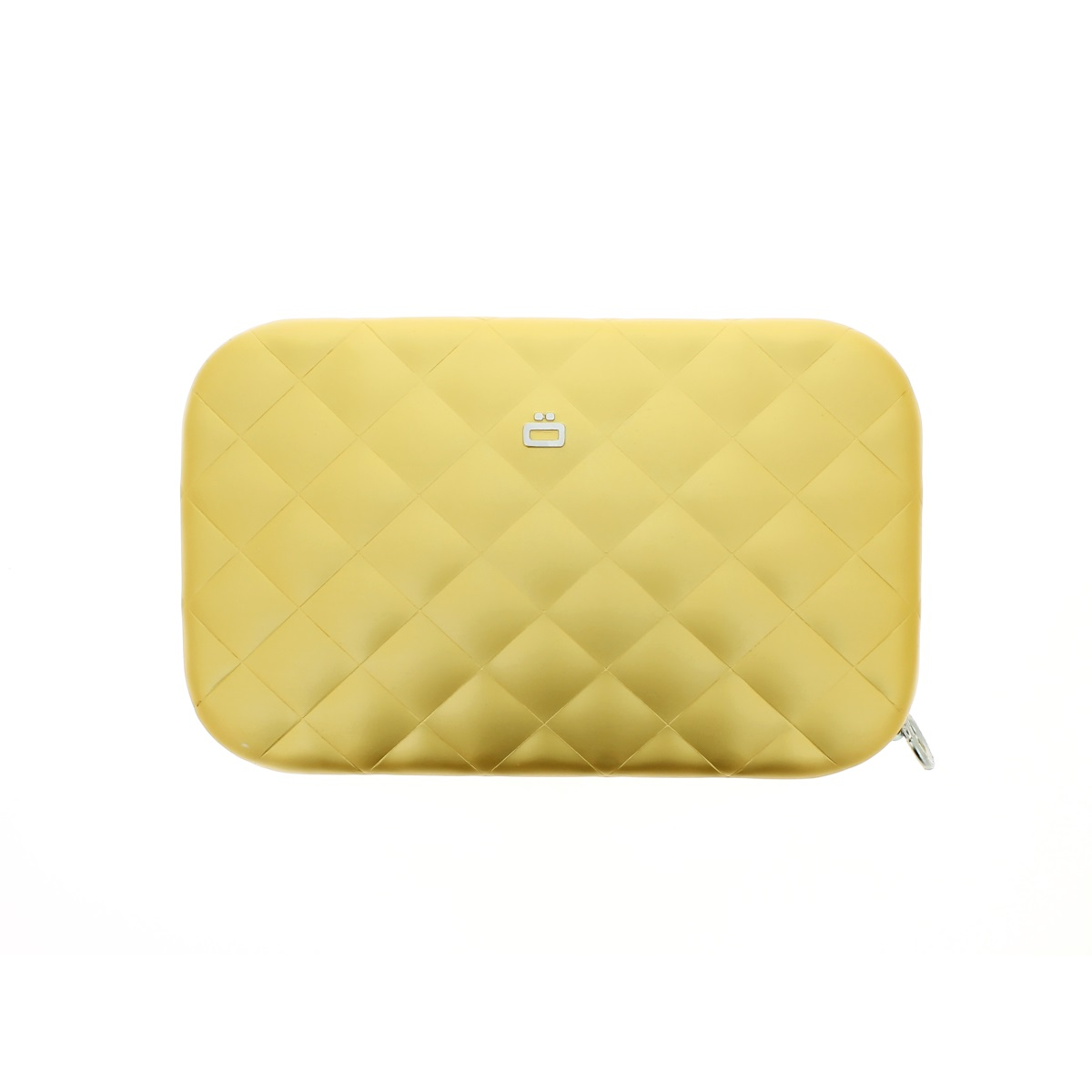 OGON Aluminum Clutch Quilted Lady Bag - Gold